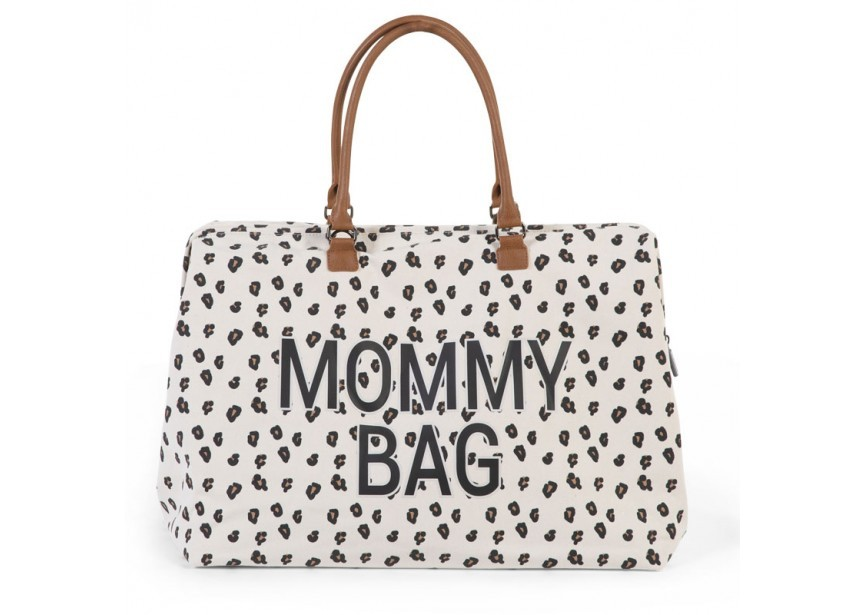 Image of Luiertas Childhome Mommy Bag Leopard