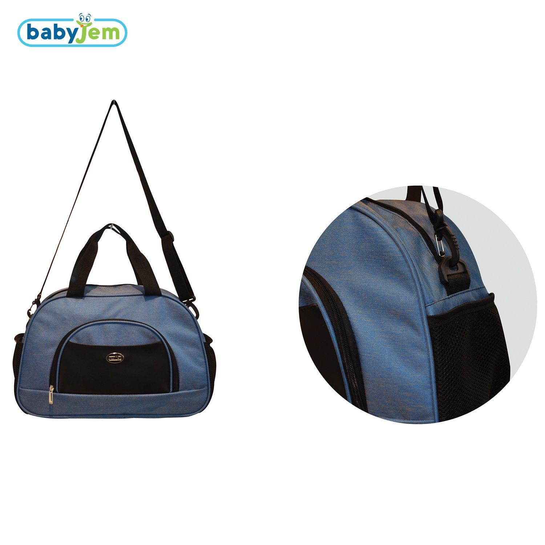 Image of Luiertas Babyjem Baby Bag Navy