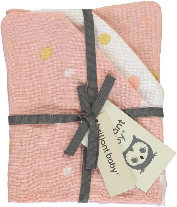 Image of Luiers Hydrofiel Briljant Baby Sunny 3st Pink