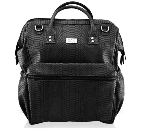 Image of Luiertas Isoki Backpack Byron Black Mumba