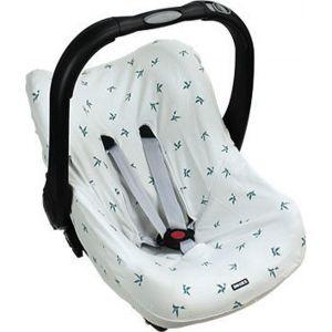 Dooky Seat Cover 0+ Origami Swallow Grey/Jade