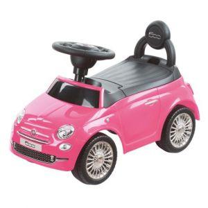 Loopauto Happy Baby Fiat 500 Roze