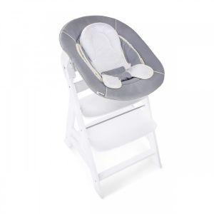 Kinderstoel Hauck Alpha+ White + Bouncer Stretch Gre