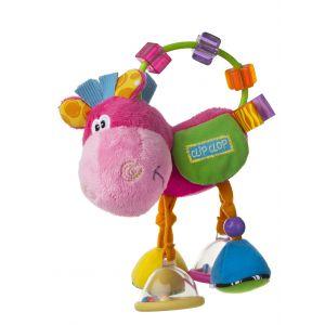 Rammelaar Playgro Clip Clop Clopette Pink