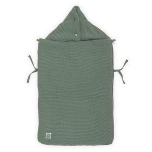 Voetenzak Autostoel Jollein Basic Knit Forest Green