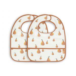 Slabber Jollein Waterproof Pear 2-pack