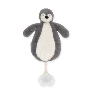 Speendoekje Jollein Penguin Storm Grey
