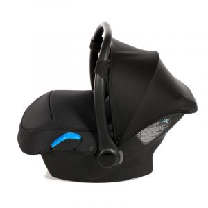 Autostoel Junama Black Inclusief Adapterset Zijkant
