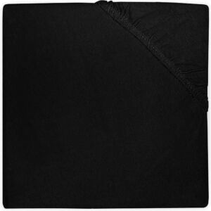 Hoeslaken Boxmatras 75x95 Jollein Jersey Black
