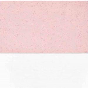 Laken Ledikant Jollein Mini Dots Blush Pink