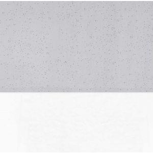 Laken Ledikant Jollein Mini Dots Mist Grey