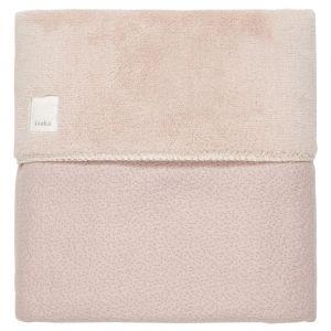 Deken Wieg Koeka Riga Teddy Grey Pink