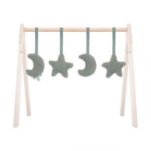 Babygym Speeltjes Jollein Moon Ash Green