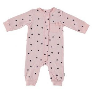 Boxpakje Bess Suit Long Sleeves Hearts Pink