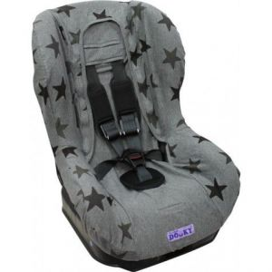 Dooky Seat Cover 1+ Grey Stars