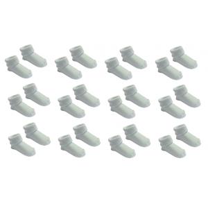12 Paar Sokjes Uni Babyblauw 0-3mnd