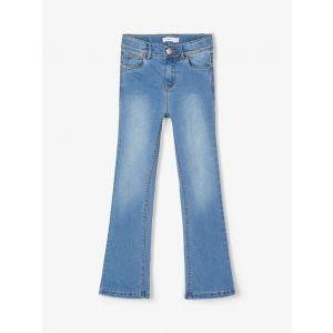 Broek Name-it NOOS High-waist Medium Denim Blue