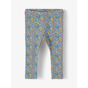 Legging Name-it NOOS Flower All-over Real Teal