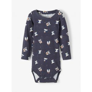 Romper Name-it NOOS Animal All-over Dark Sapphire