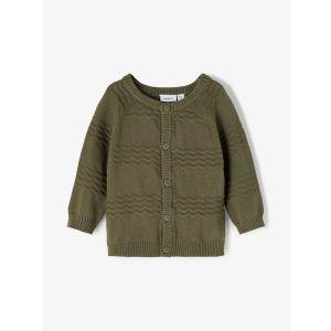 Vest Knit Name-it NACMA21 Ivy Green