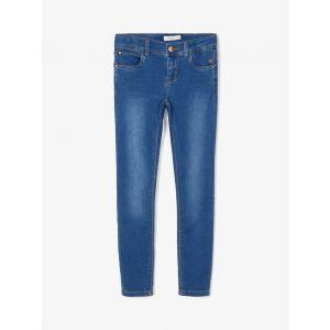 Broek Name-it NOOS Sweat-Denim Medium Blue X-Slim Fit