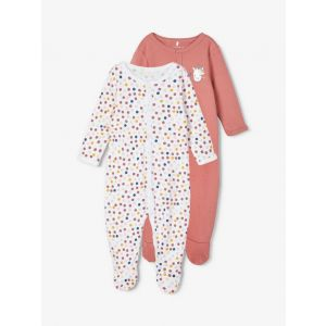 Pyjama 2-pack Name-it NOOS Withered Rose