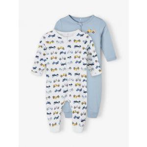 Pyjama 2-pack Name-it NOOS Dusty Blue