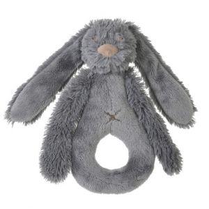 Rabbit Richie Deep Grey Rattle | Happy Horse