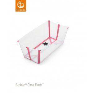 Stokke® Flexi Bath™ Transparant Pink