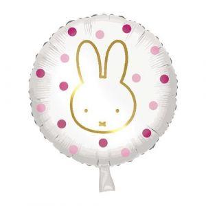 Ballon Nijntje Roze 45cm