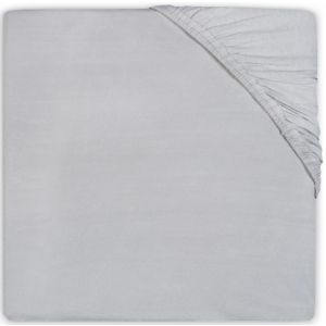Hoeslaken Ledikant Jollein Jersey 60x120 Soft Grey 511-507-00078