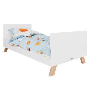 Bed Bopita Lisa 90x200 Wit/Naturel