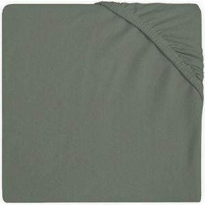 Hoeslaken Wieg Jollein Jersey 40x80/90 Ash Green 511-501-00095