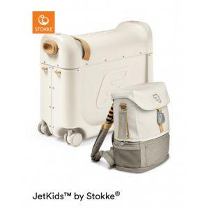 Stokke® Bedbox Jetkids + JetKids™ Crew Backpack White1