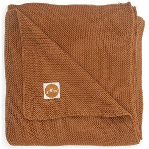 Deken Ledikant Jollein Basic Knit Caramel