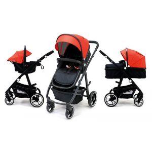 Kinderwagen Asalvo Two+ Red