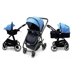 Kinderwagen Asalvo Two+ Blue
