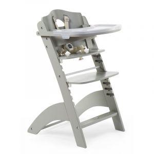 Kinderstoel Lambda 3.0 Stone Grijs met Stoelverkleiner