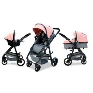 Kinderwagen Asalvo Two+ Pink