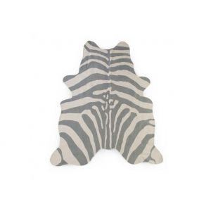 Childhome Vloerkleed Zebra Grijs