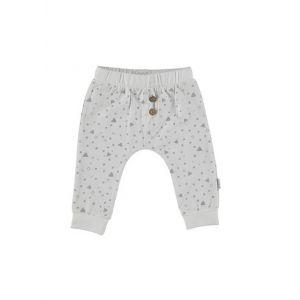 Broek Bess Pants Triangle White