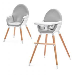 Kinderstoel Kinderkraft Fini Grey&White