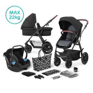 Kinderwagen Kinderkraft Xmoov 3-in-1 Black + Autostoel