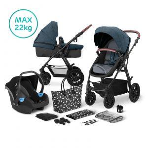 Kinderwagen Kinderkraft Xmoov 3-in-1 Denim
