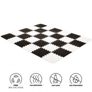 Speelmat Kinderkraft Luno Black
