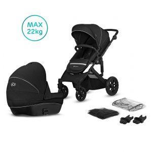 Kinderwagen Kinderkraft Prime Lite 2-in-1 Black