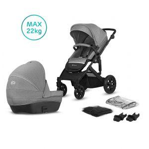 Kinderwagen Kinderkraft Prime Lite 2-in-1 Grey