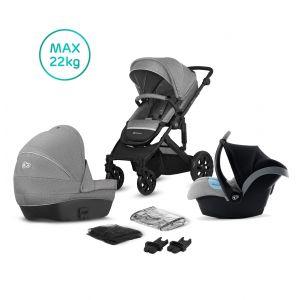 Kinderwagen Kinderkraft Prime Lite 3-in-1 (incl. Autostoel) Grey