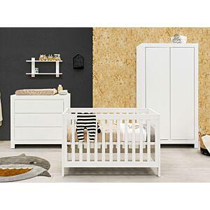 Babykamer Bopita Thijn (2-deurs) incl. Matras en Wandrek