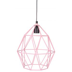 Wire Hanglamp KidsDepot Pink